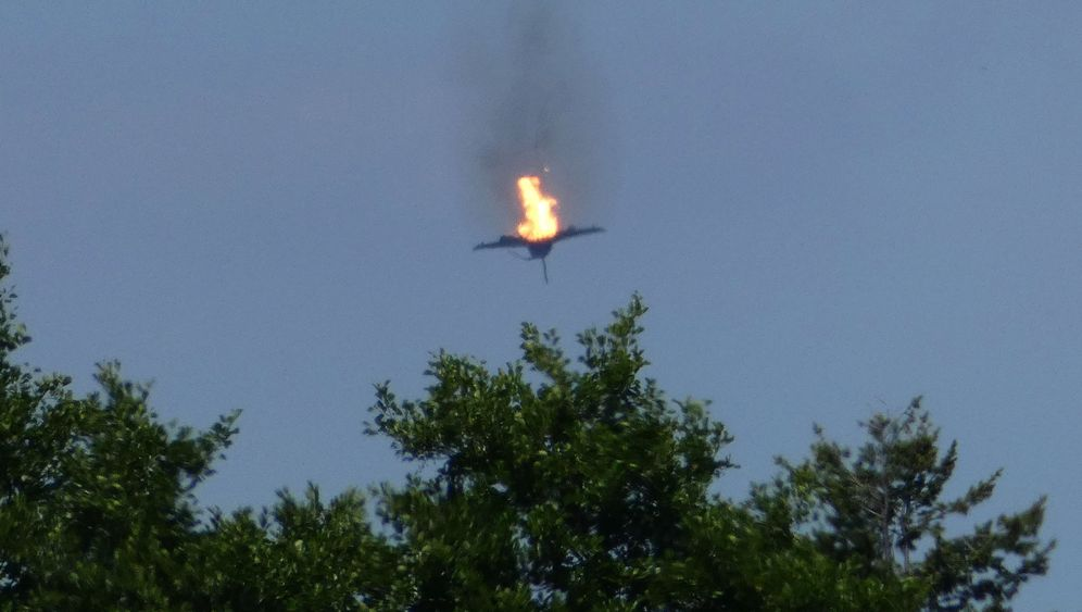 """""""Eurofighter"""": Der Tag nach dem Absturz"""