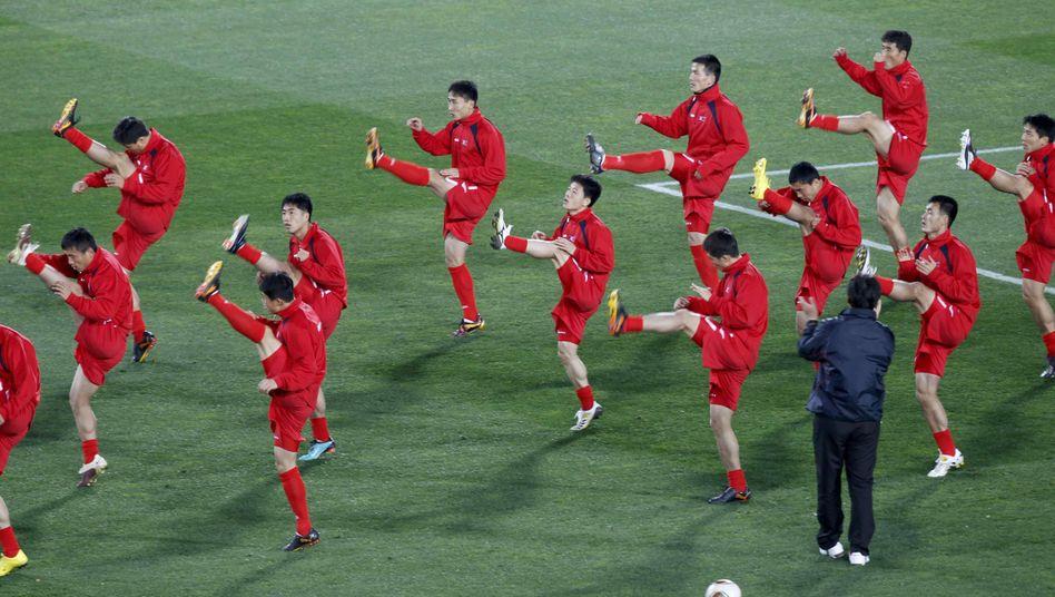 Nationalteam von Nordkorea bei der WM in Südafrika: Drei Spiele, drei Niederlagen