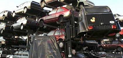 Autoverschrottung: Geld fürs alte Blech