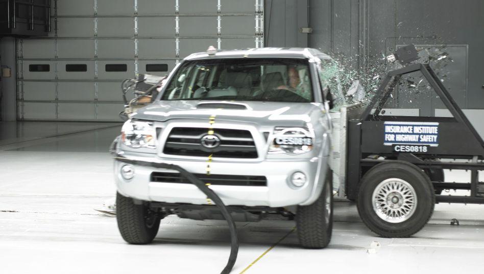 Toyota Tacoma: Probleme am Antrieb von 8000 Pick-ups