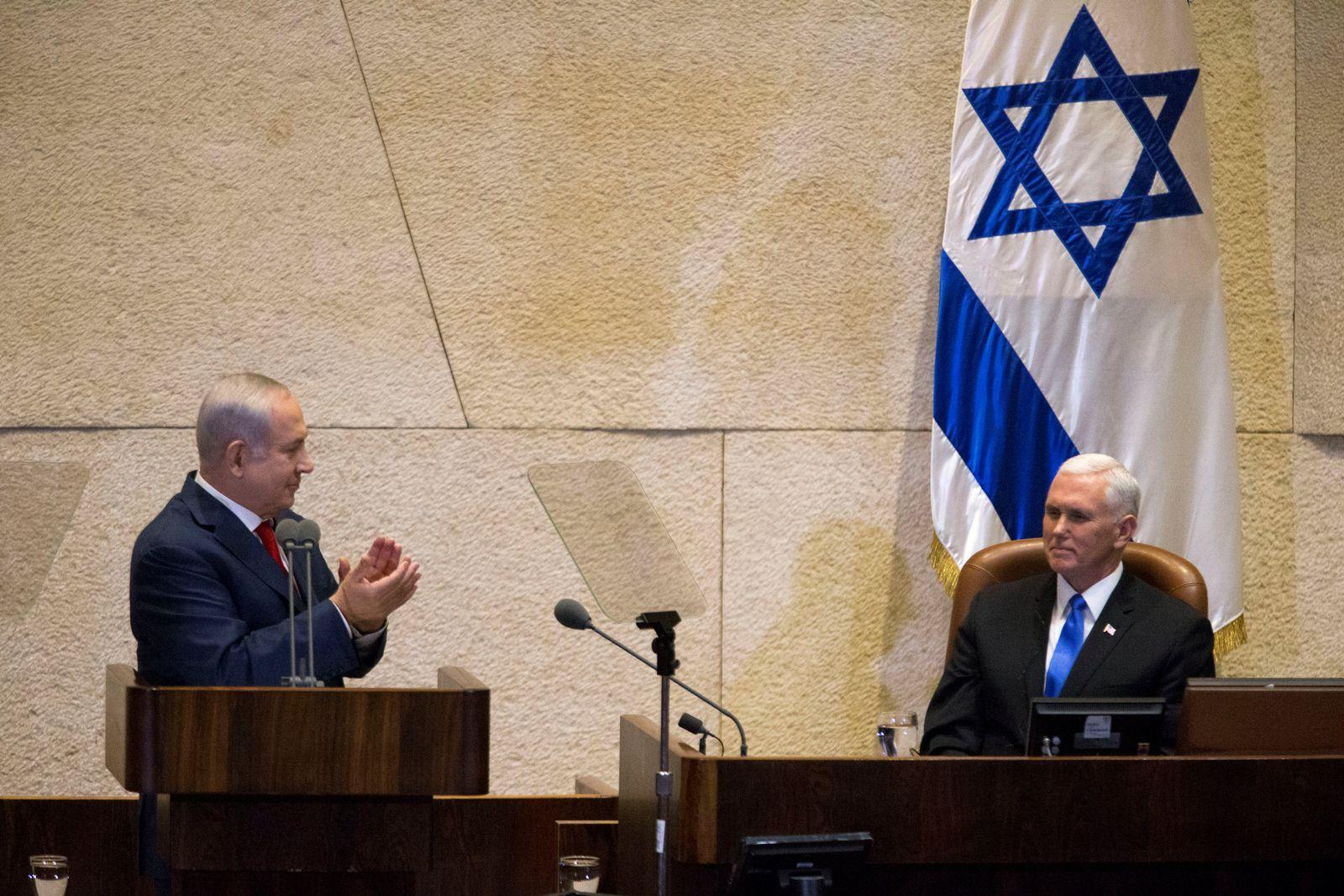 USA-ISRAEL/PENCE