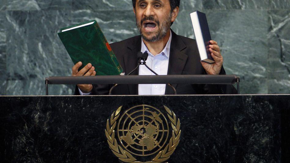 Verschwörungstheorien zu 9/11: Ahmadinedschad sorgt im Uno-Plenum für Eklat