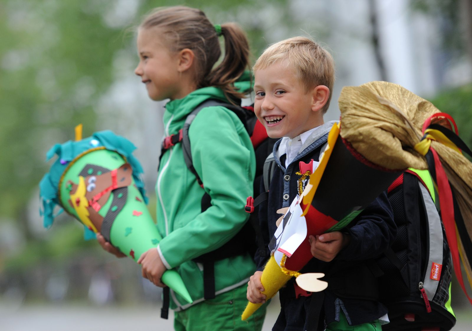 Schulbeginn in Bayern