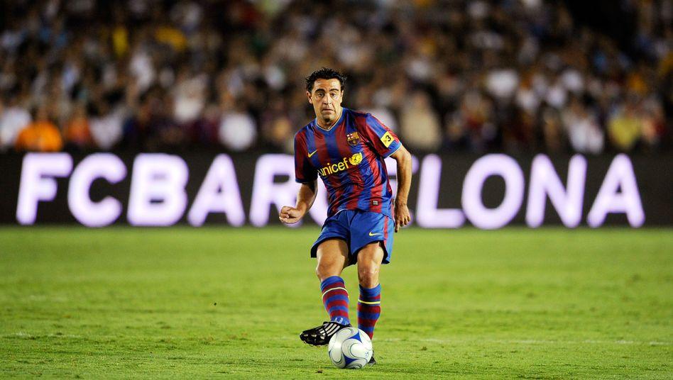Barcelonas Xavi: Sein Club benötigt offenbar einen 150-Millionen-Kredit