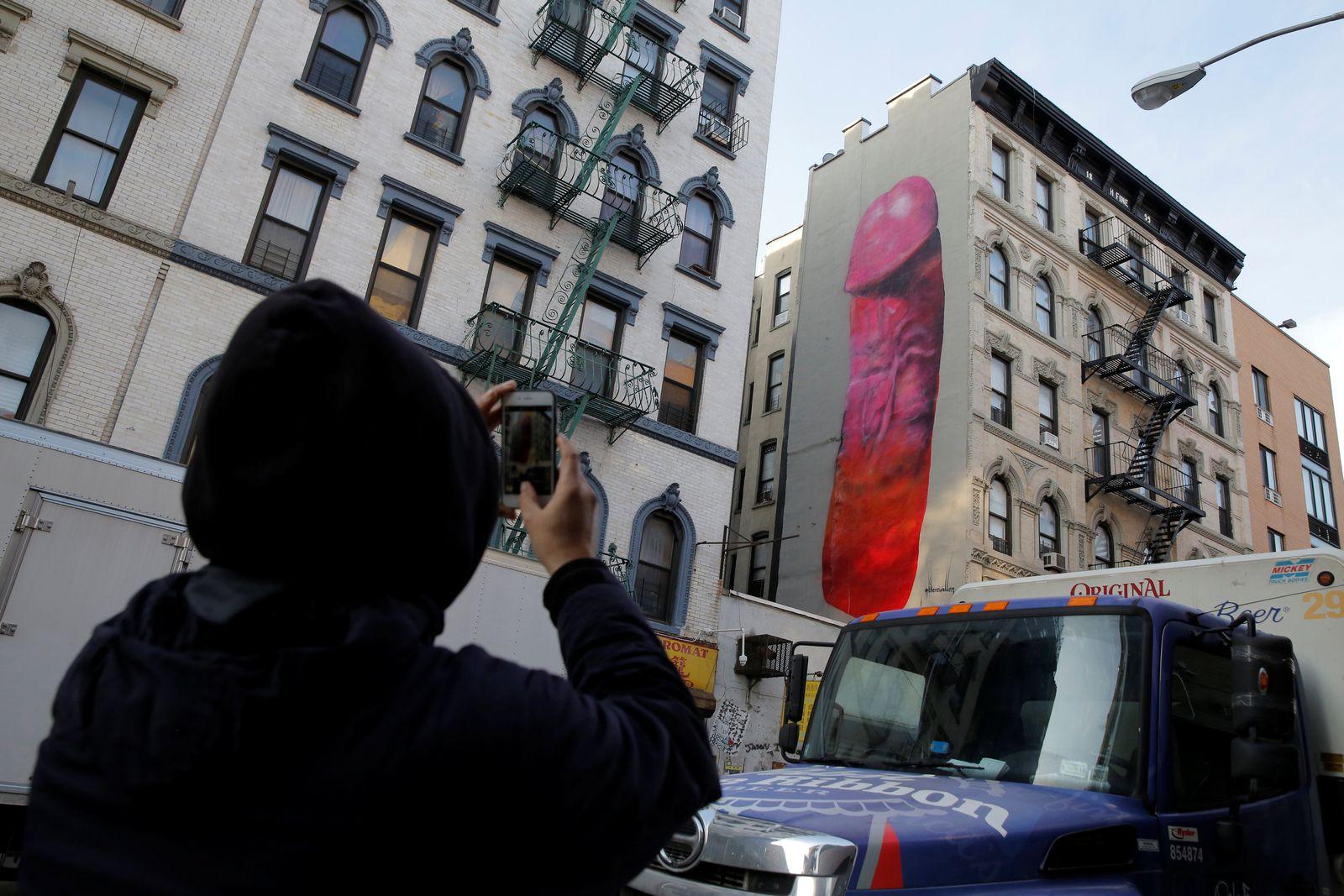 EINMALIGE VERWENDUNG New York/ Dick Pic