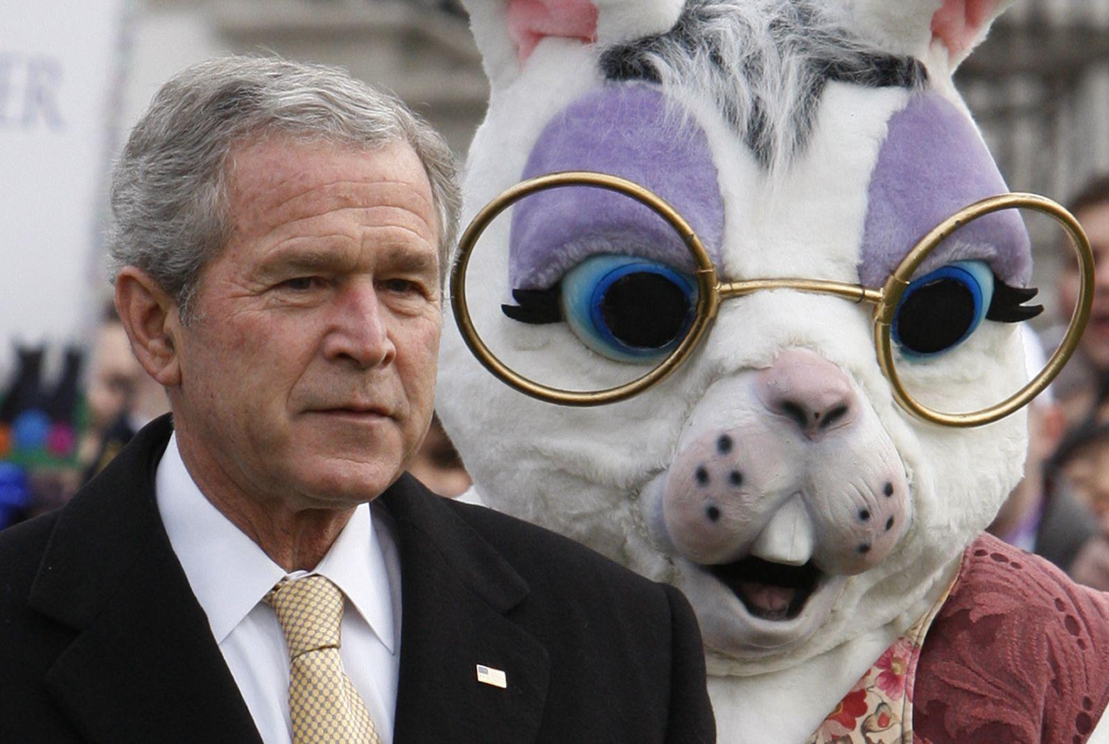 George W. Bush / Osterhase