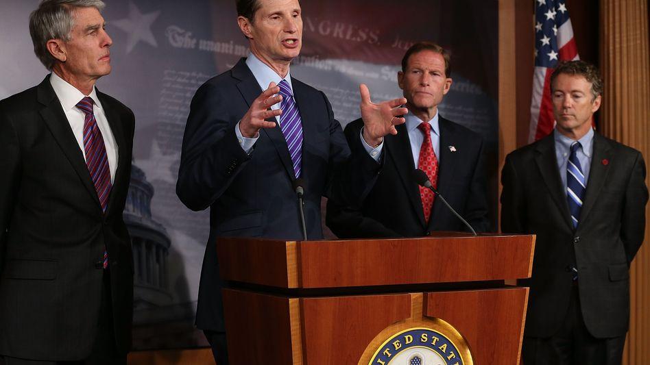 US-Demokrat Wyden (Archivbild): Reform gegen Steuervermeidung