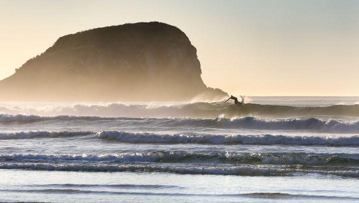 Surfen in Neuseeland: Ein perfektes Set