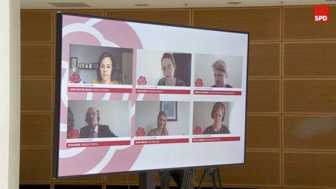 Experten in SPD-Videokonferenz