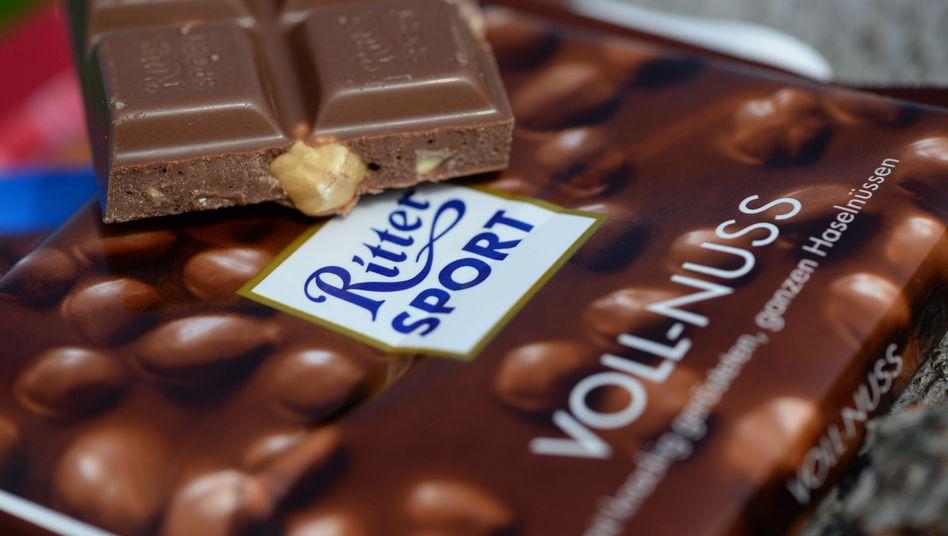 Ritter-Sport-Schokolade: Auch in Zukunft exklusiv quadratisch