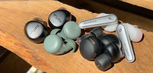 Sony WF-1000XM4, Google Pixel Buds A-Series, Anker Soundcore Liberty Air 2 Pro, Earfun Free 2 im Test