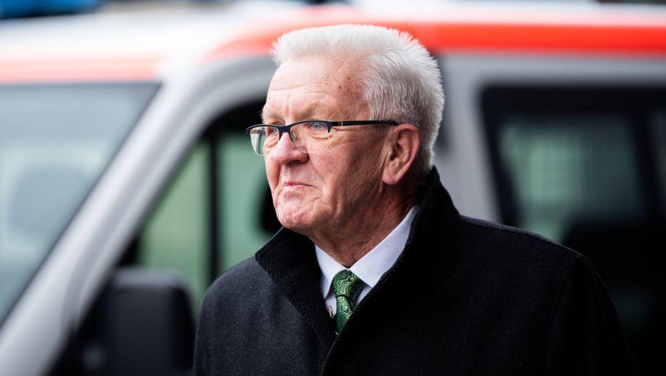 Ministerpräsident Kretschmann: »Wir bieten weiterhin eine Notbetreuung an, aber es soll wirklich bei einer Notbetreuung bleiben«