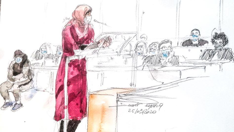 """Eine Zeugin vor Gericht: Der """"Charlie Hebdo""""-Prozess beschäftigt die Französinnen und Franzosen"""