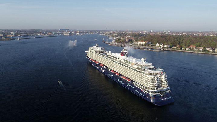 """Rundgang über """"Mein Schiff 1"""": Vom Bug bis zum Diamanten"""