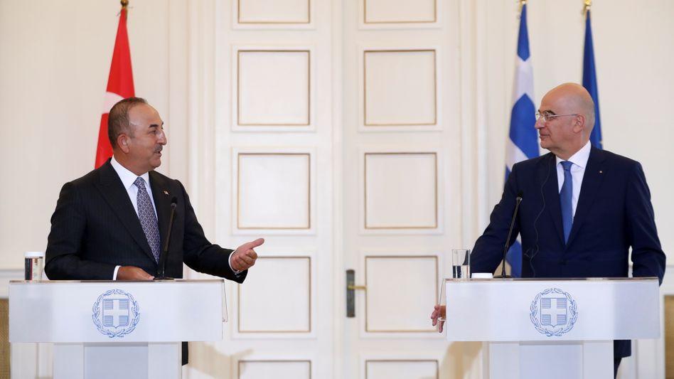 Außenminister unter sich: Erneuter Eklat vermieden