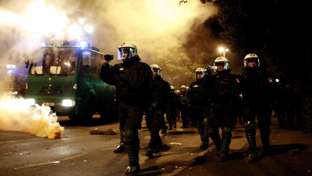 Hamburger Schanzenviertel: Straßenfest endet mit Ausschreitungen