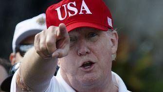 Lügen, beleidigen, golfen - Trump in Zahlen