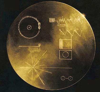 Botschaft von Erde an unbekannt: Voyager 1 und 2 haben diese Goldplaketten an Bord