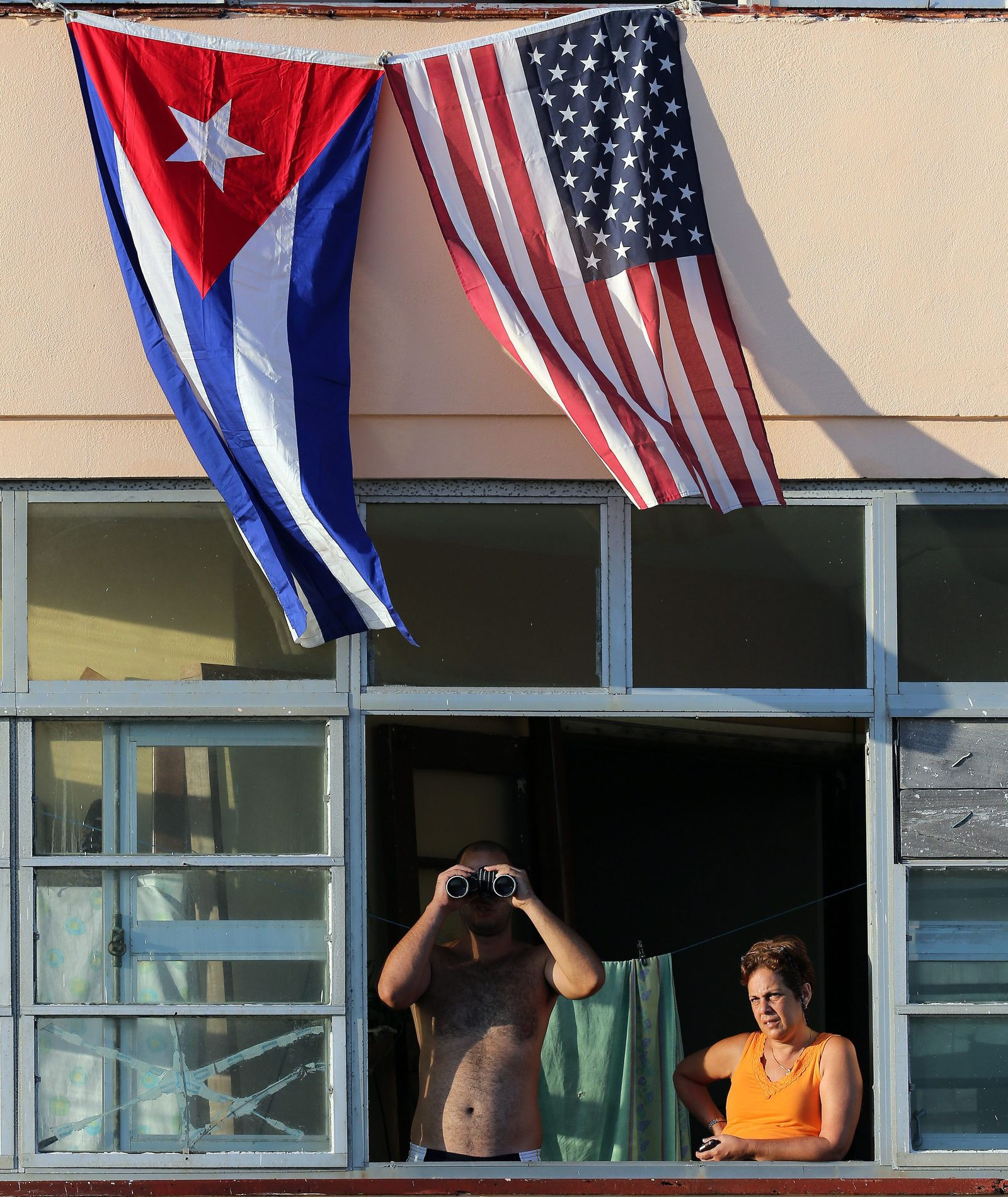 US Embassy in Cuba reopening ceremony