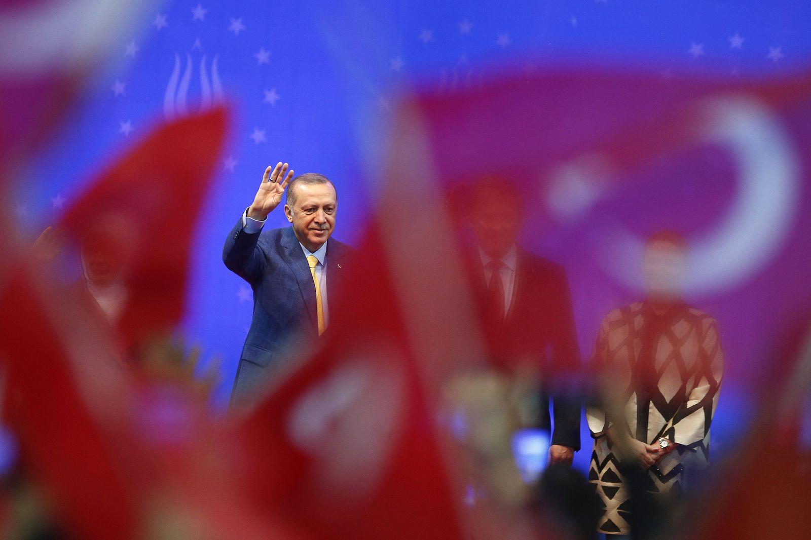 EINMALIGE VERWENDUNG Tayyip Erdogan/ Türkei/ Wahlen