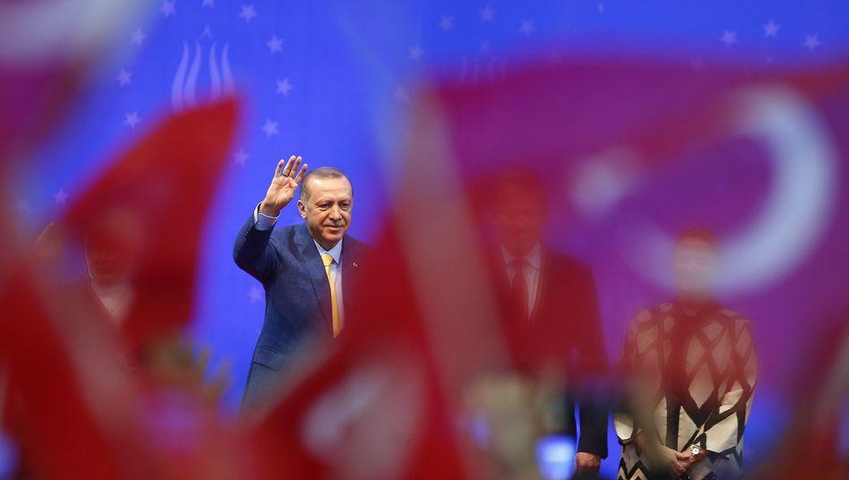 Recep Tayyip Erdogan in Sarajevo