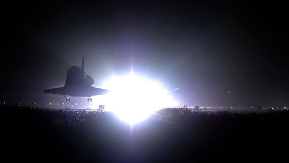 """Letzte Landung: """"Endeavour"""" ist - und bleibt - auf der Erde"""