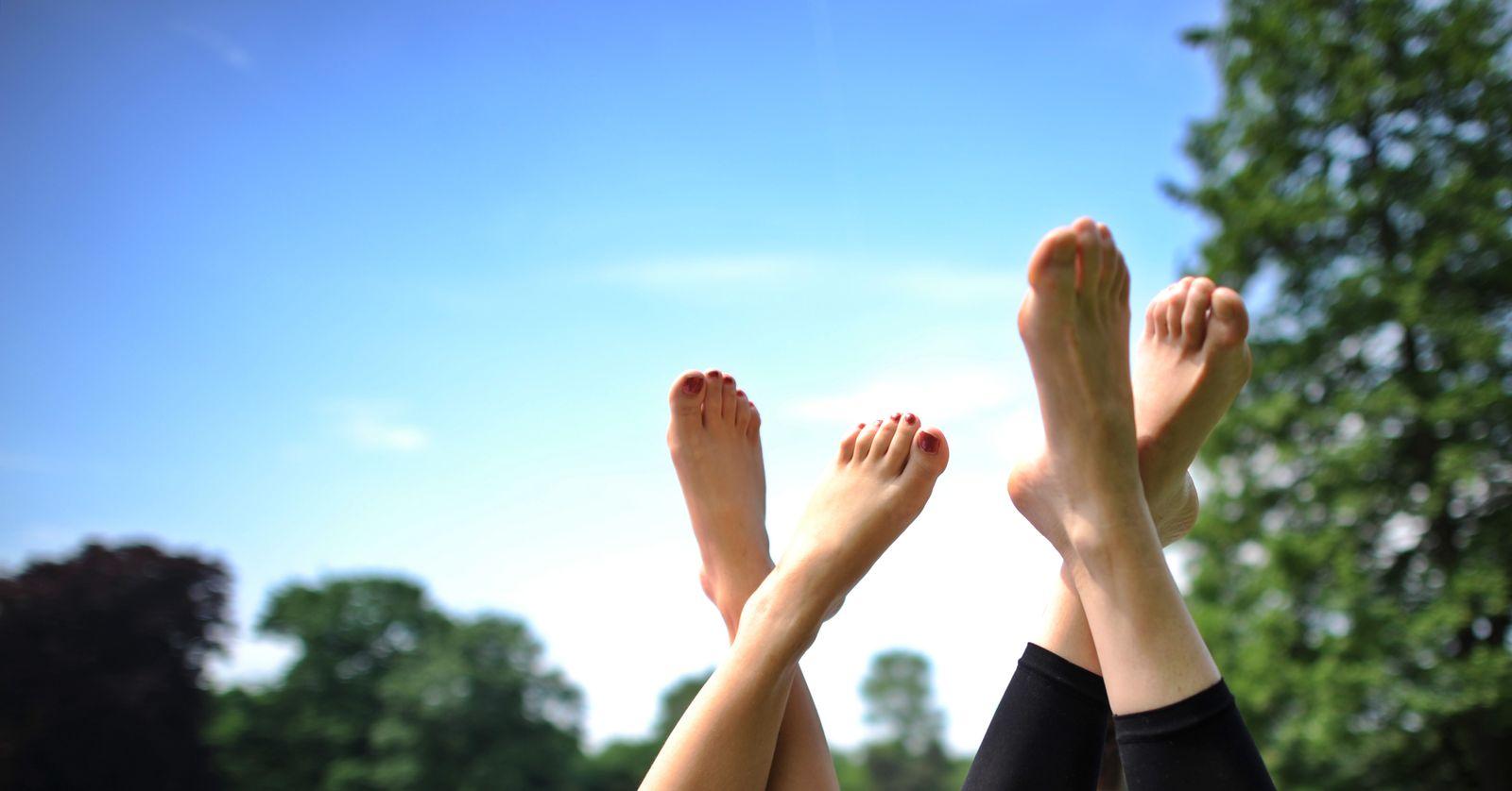 Sommerwetter / Fuß / Füße /