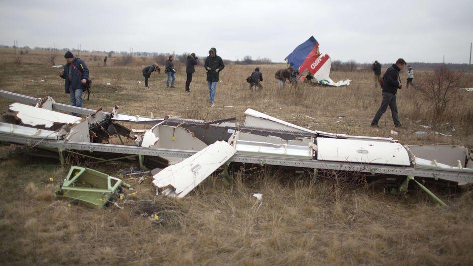 Absturzstelle Malaysia Airlines MH17: Tragisches Ausnahmejahr