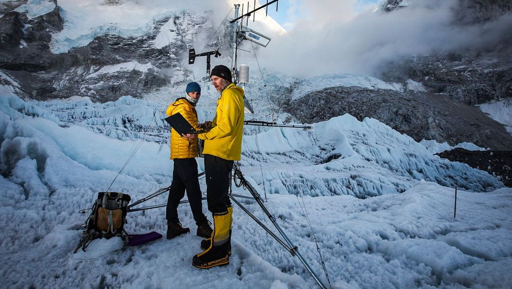 Mount Everest: Hoher Gipfel, hohe Strahlung