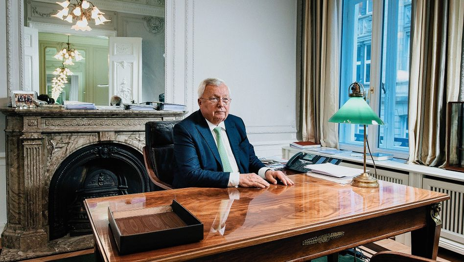 Banker, Beschuldigter, Kläger: Warburg-Eigentümer Christian Olearius sieht sich als Sündenbock