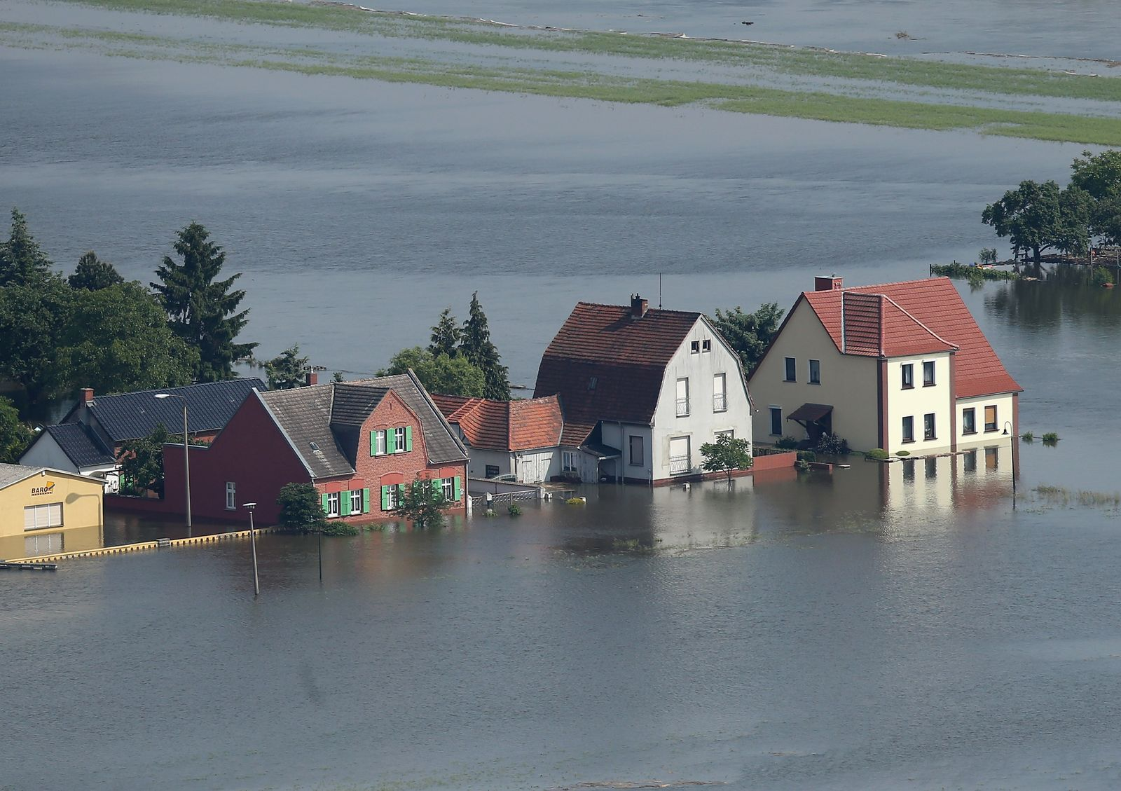 Elbe Hochwasser
