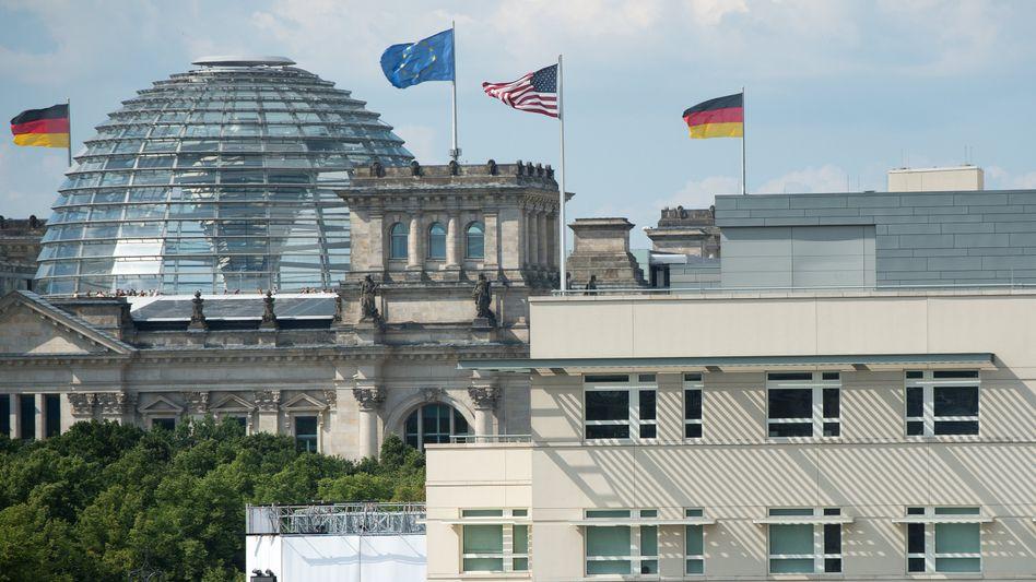 US-Botschaft, Bundestag