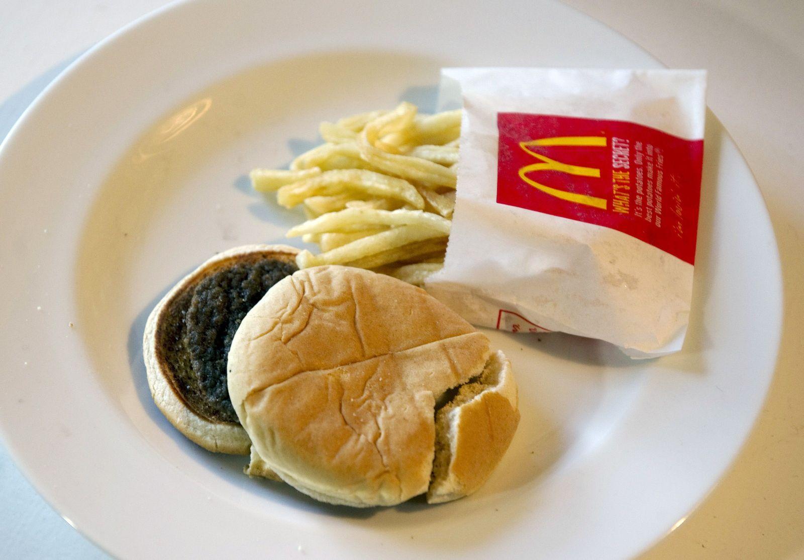 Sally Davies/ McDonalds Menü
