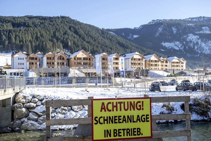 Gosau in Österreich: Das Geschäft läuft auch ohne Schnee