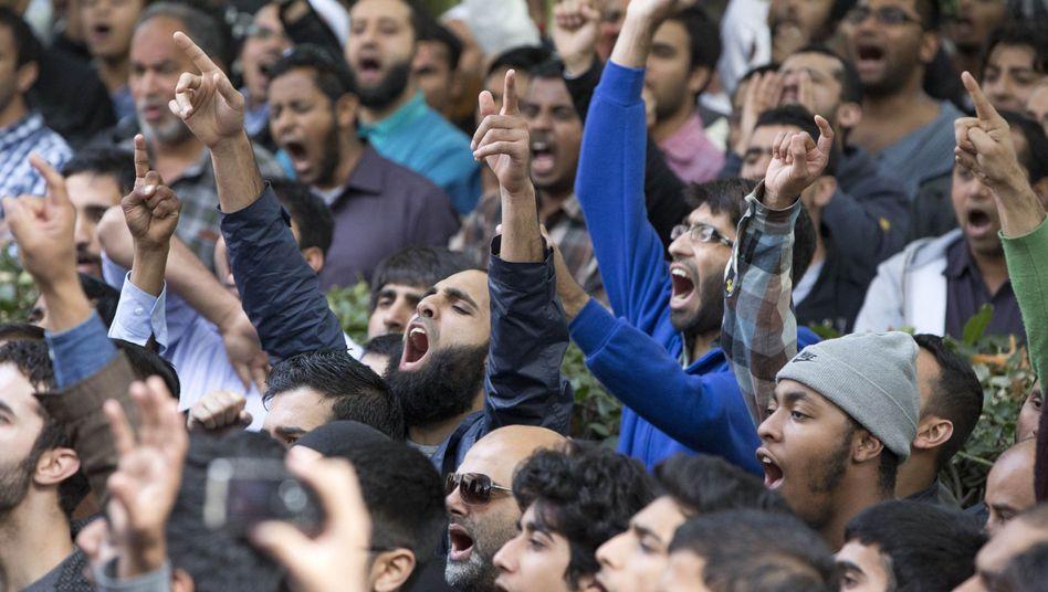 Proteste in der arabischen Welt: SPD- und Grünen-Politiker gegen Verbot von Mohammed-Film