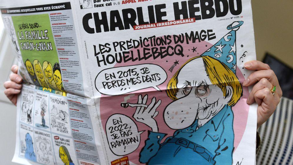"""Houellebecq und """"Charlie Hebdo"""": """"2022 mache ich Ramadan"""""""