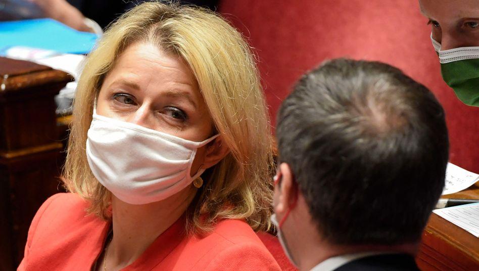 Umweltministerin Barbara Pompili in der französischen Nationalversammlung (Archivbild)