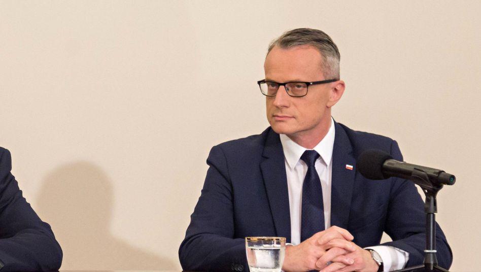 Polens Botschafter Marek Magierowski: Von Unbekanntem angespuckt