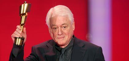 Filmemacher Kluge (am vergangenen Freitag bei der Verleihung des Deutschen Filmpreises): Der witzigste und neugierigste Mann im deutschen Fernsehen