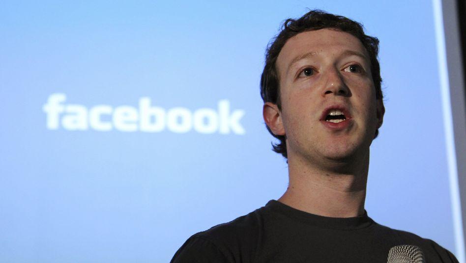 Facebook-Gründer Zuckerberg: Seine Mitarbeiter sollen sich auf Produkte konzentrieren