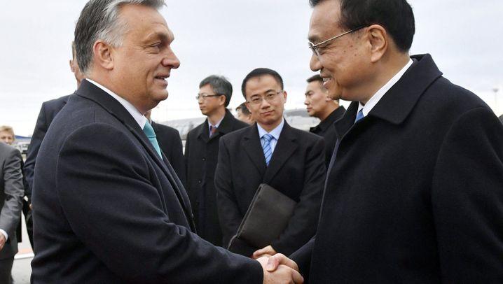 Gipfel in Budapest: Für den Gast aus China nur das Beste
