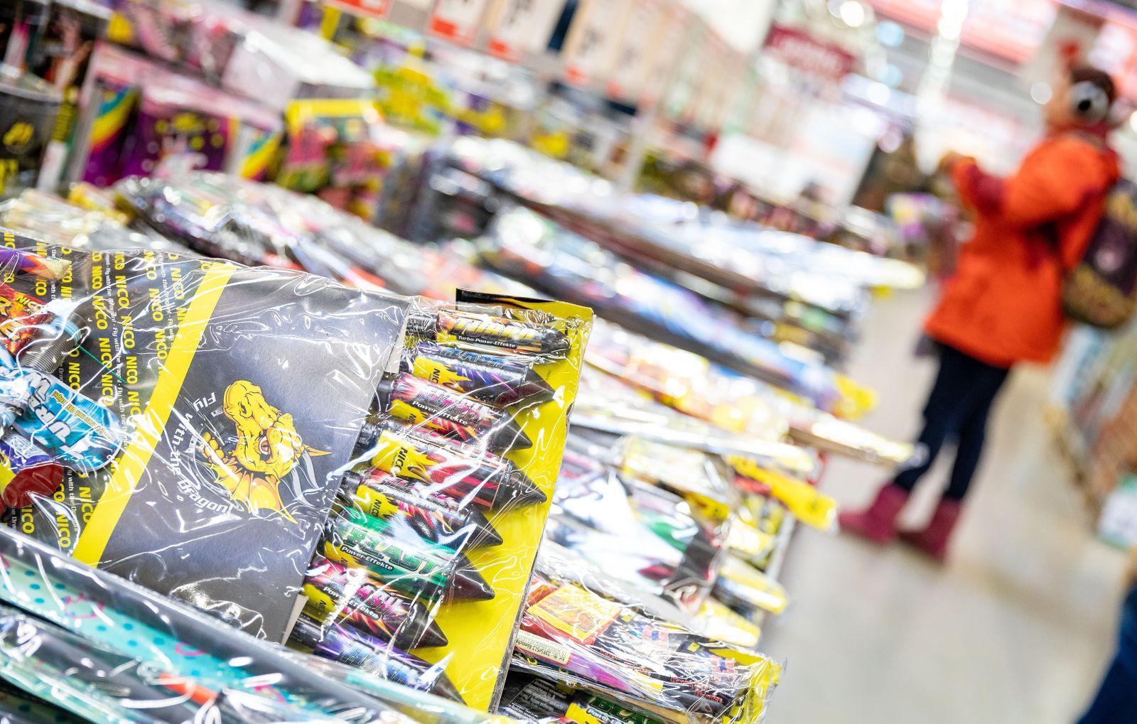 Verkauf von Silvesterfeuerwerk