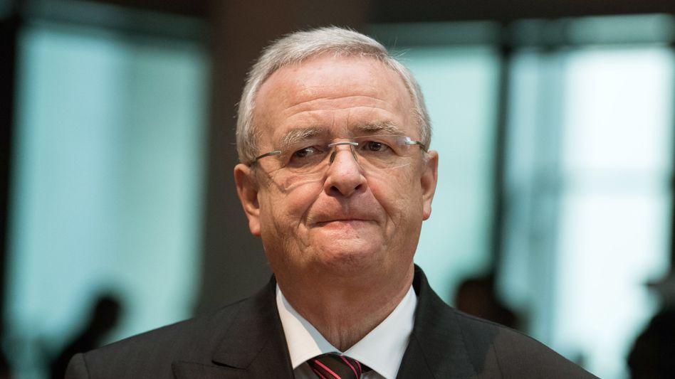 Ex-VW-Chef Martin Winterkorn