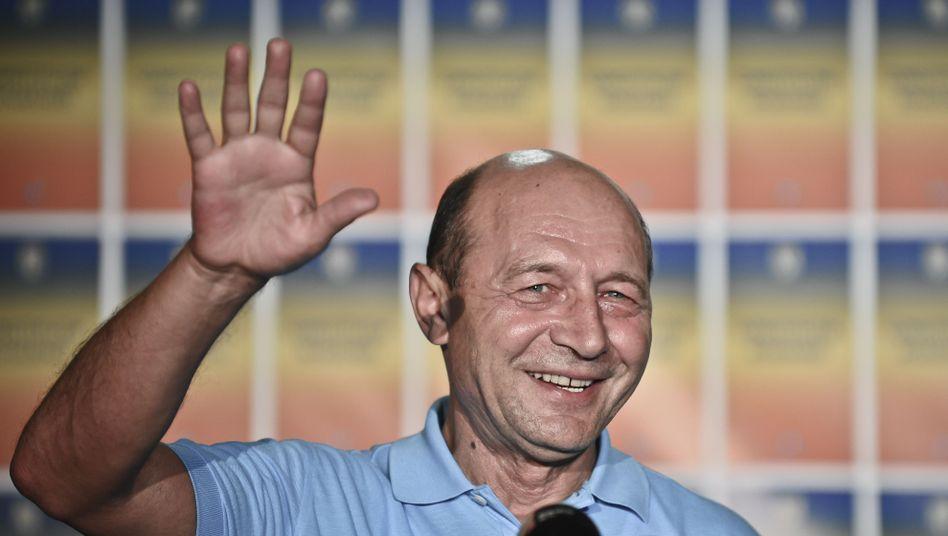 """Rumäniens Präsident Basescu (am Sonntag): """"Staatsstreich gegen mich"""""""