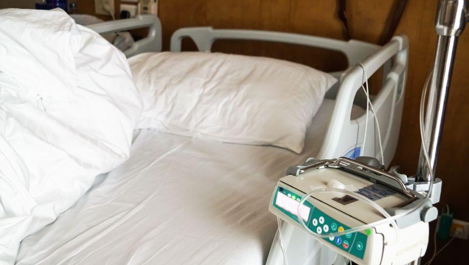 Leeres Krankenhausbett: Wo wollen Sie einmal sterben?