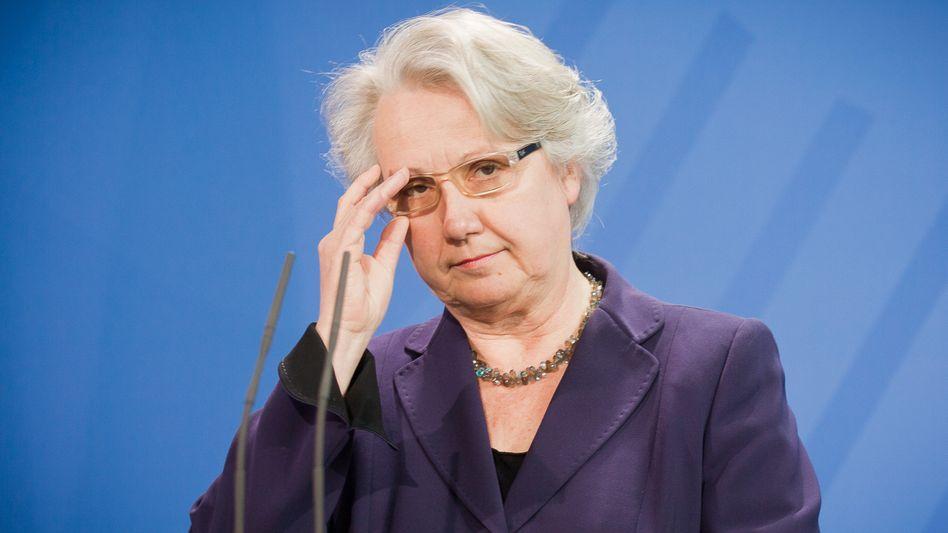 """Annette Schavan (CDU) bei ihrem Rücktritt 2013: """"Jetzt bereite mich auf neue Aufgaben vor"""""""