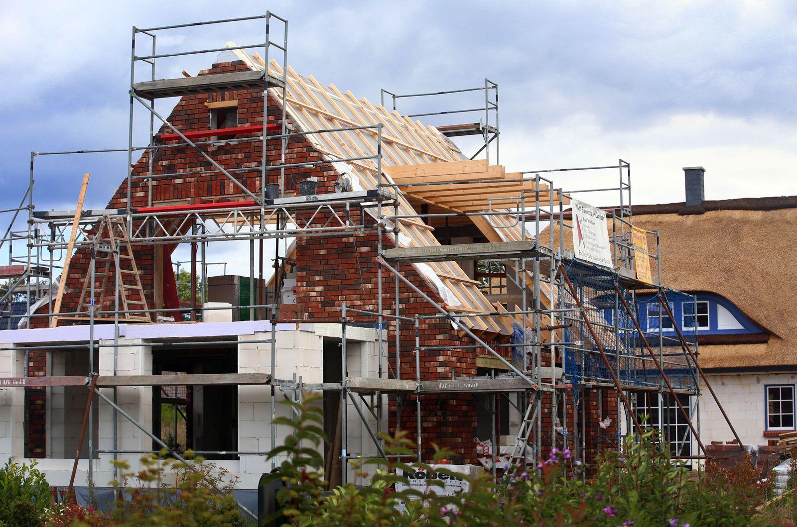 Bauwirtschaft mit Halbjahresbilanz