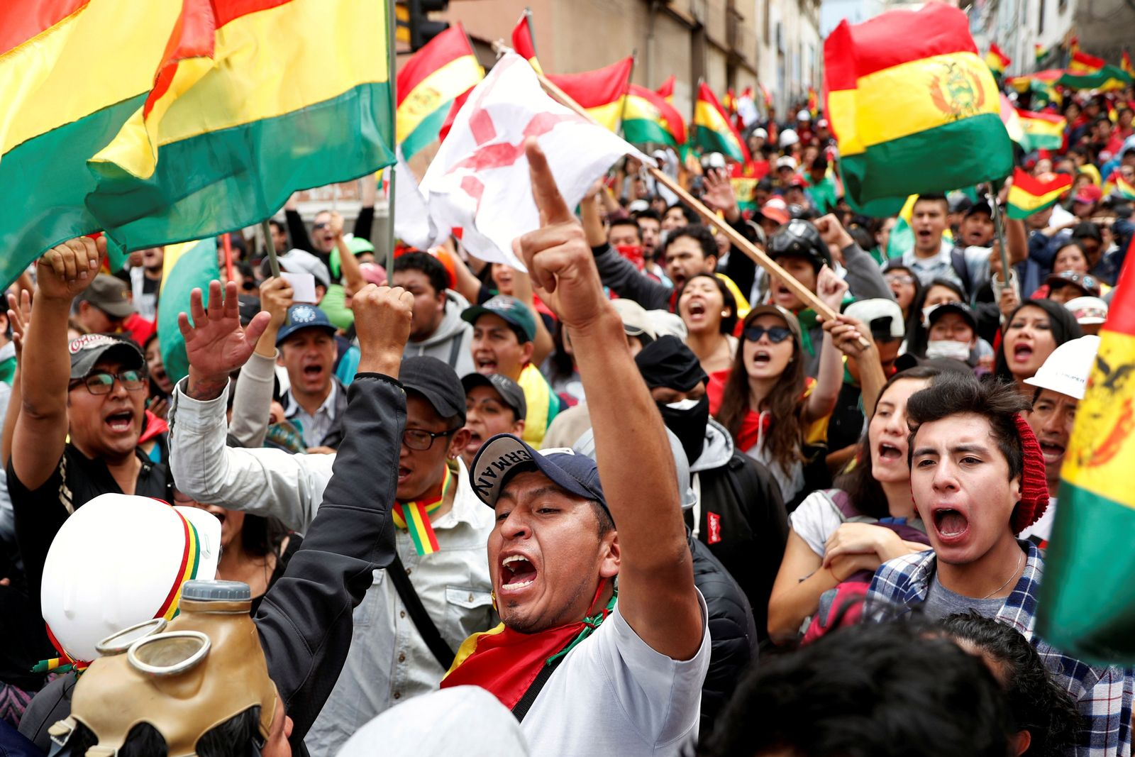 BOLIVIA-ELECTION/PROTESTS
