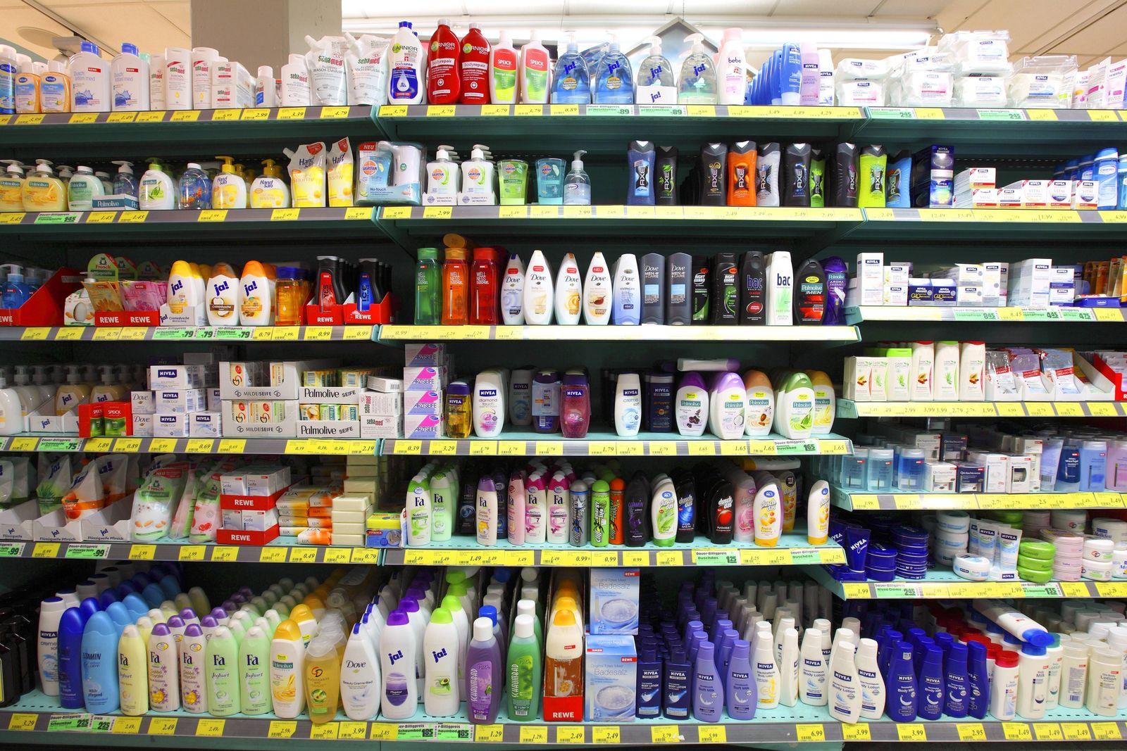 EINMALIGE VERWENDUNG Shampoo/ Flasche/ Entleerung