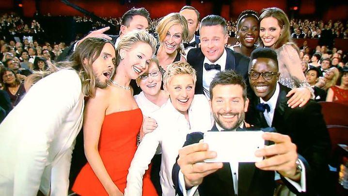 Hollywoodstars bei der Oscarverleihung 2014